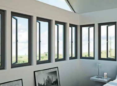 Side Hung Aluminium Windows